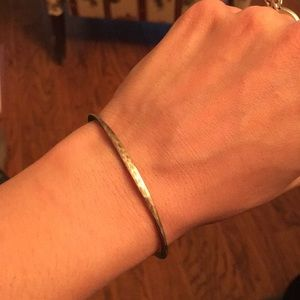James Avery Hammered Hook-On Bracelet